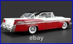 118 GMP Acme A1809001 1956 Chrysler Neuf York Pièce Regis Blanc/Rouge/Noir