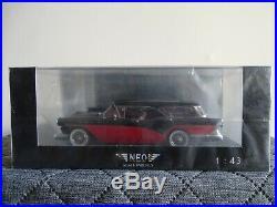143 Neo #440660 Buick Century Caballero Noir/Rouge Neuf / Emballage