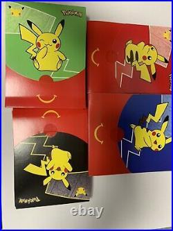 27 Boosters Pokémon Mcdo Macdo 2021 Neuf Couleurs Rouge Vert Noir Bleu