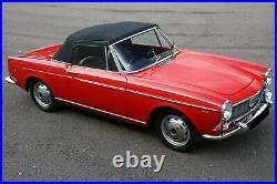 4X Habillage de Roue Enjoliveur Fiat 1100 1200 1500 1600 Cabriolet Berline