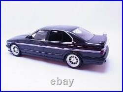 81875 Ottomobile OT362 BMW Hartge Hs V12 E34 Noir Modèle 118 Neuf Dans Ovp