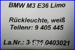 9405445 Feu Arrière Droit Hr Neuf OEM BMW 3er M3 E36 Soude Rouge Blanc