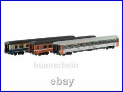 ACME 55101 Ensemble Train Express 3-tlg. Paris-Frankfurt DB SNCF FS Ep. 4 Neuf+