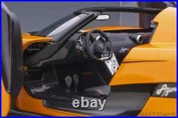 AUTOart Koenigsegg Agera Rs Cône Orange / Carbone avec Noir Accents 1/18 Neuf