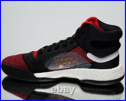Adidas Marquee Boost Homme Neuf Actif Rouge Noir Basketball Baskets G27735
