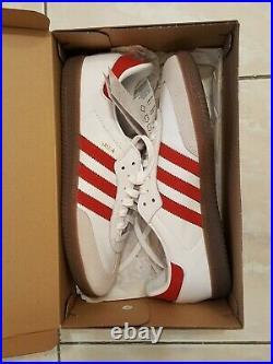 Adidas Samba OG taille 43 rouge red blanc homme black Sport basket NEUF