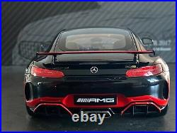 Almostreal 1/18 Mercedes Benz AMG GT-R 2017 Noir/Rouge neuf pour collectionneur