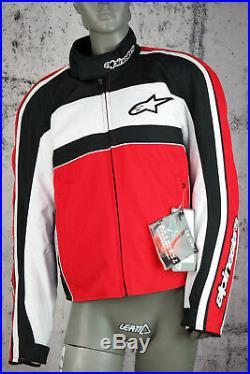 Alpinestars Moto, Polyester, Polyamide, Noir, Rouge, Taille L, Neuf