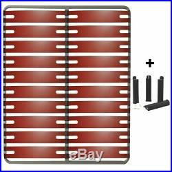 Altobuy RedLine Pack Sommier 2x10 Lattes 140x190cm + Pieds Noirs Neuf