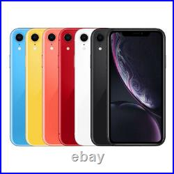 Apple IPHONE XR Smartphone 64GB comme Neuf Noir Blanc Rouge Jaune Bleu Coral Wow