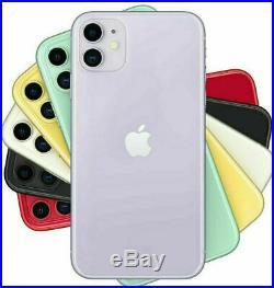 Apple Iphone 11 64 128 256 Noir Blanc Rouge Jaune Vert Violet Neuf