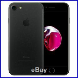 Apple iPhone 7 32Go 128Go 256Go Rouge Noir Rose Débloqué Smartphone Comme Neuf