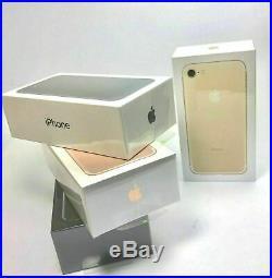Apple iPhone 7 Téléphone Débloqué 32Go 128Go Neuf Noir Or Rose Argenté Rouge Fr