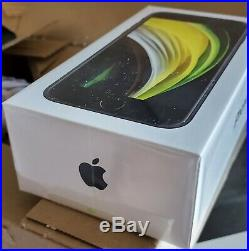 Apple iPhone SE (2020) 64 Go noir, neuf sous blister