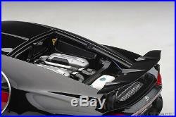 Autoart Bugatti Chiron Italien Rouge / Nocturne Noir 1/12 Échelle Neuf Sortie