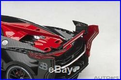 Autoart Bugatti Vision Gran Turismo Italien Rouge/Noir Carbone 1/18 Scale Neuf