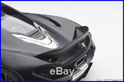 Autoart Mclaren P1 2013 Noir Mate / Rouge Accents 1/12 Échelle Neuf! En Stock