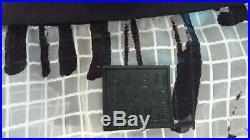 BLEU BLANC ROUGE Tunique -Imprimé graphique blanc et noir T. 44 Neuf + étiquette