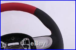 BMW Mini Cooper One R55 R56 R57 R60 Neuf Cuir Rouge Volant Sport 3 Rayons