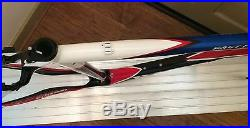Basso Rapide Traverser Frameset Taille 55cm Bleu/Rouge/Blanc/Noir Neuf