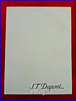 Briquet Défi Extrême Rouge Noir St Dupont Neuf