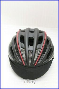 Casco Casque de Vélo Speedster Noir Rouge Gr. M Casque de Vélo Neuf