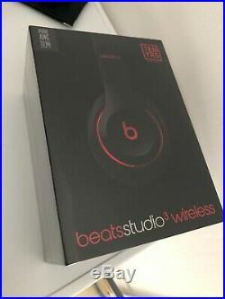 Casque beats studio 3 wireless neuf rouge et noir