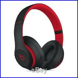 Casque beats studio 3 wireless rouge et noir neuf