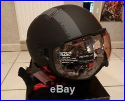 Casque ski homme julbo sphere zebra light rouge et noir NEUF taille 58/60