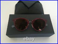 Christian Dior 0196S MZSLC Soleil 48 Rouge comme NEUF avec boîte et pochette