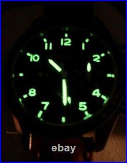 Chronographe Landeron Seagull hommage Speedmaster, neuf
