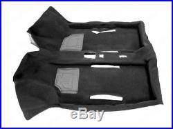 Classique Fiat 500 126 Noir Intérieur Moquette Tapis de Sol Tout Neuf
