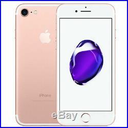 Comme NEUF Apple iPhone 7 32Go Rouge Noir Débloqué Smartphone 2 ans de garantie