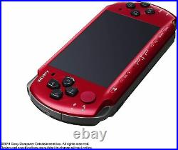 Comme Neuf sony PLAYSTATION Noir/Rouge Portable psp 3000