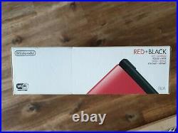 Console NINTENDO 3DS XL ROUGE + NOIRE RED + BLACK Pal EUA Neuf