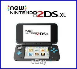 Console Nintendo 2DS XL BLeu Noire + 24 Jeux Neuf Garantie 12 Mois