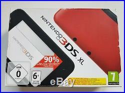 Console Nintendo 3ds XL Rouge Noir Neuf