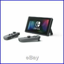 Console Nintendo Switch 32 Go Portable avec Manettes Joy-Con Noir Neuf