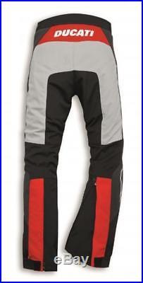 DUCATI DAINESE hommes STRADA C3 textile noir/gris / Rouge NEUF