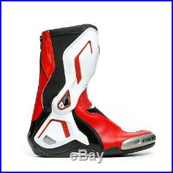 Dainese Torque 3 Botte Noir/Blanc/Rouge 44 Sport/Bottes de Moto de Course Neuf