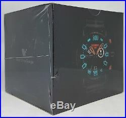 Diesel DZT2010 Full Garde 2.5 Smartwatch, Bracelet de Silicone, Rouge/Noir Neuf