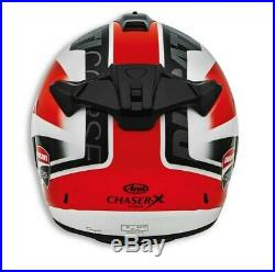Ducati Arai Chaser X Corse SBK 4 Casque Casque Rouge Noir Blanc Neuf 2020