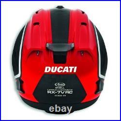 Ducati Arai Corse Charbon 2 RX-7V RC Casque Limitée Noir Rouge Neuf