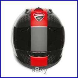 Ducati Arai Corse Charbon RX-7 RC Casque Casque Limitée Noir Rouge Neuf