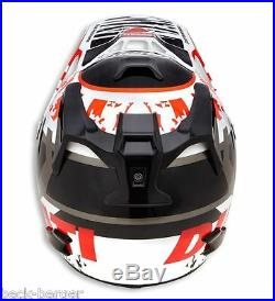 Ducati Arai Mx-V Explorer Enduro Casque Helmet Casque Noir Rouge Neuf