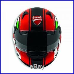 Ducati Arai Quantum st Pro Type Casque Casque Noir Rouge Tricolore Neuf