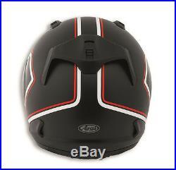 Ducati Arai Rebel Red Line Casque Helmet X-Schwarz Rouge Blanc Neuf 2018