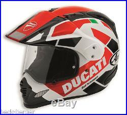 Ducati Arai Strada Tour V3 Tour-X 4 Enduro Casque Casque Noir Rouge Neuf