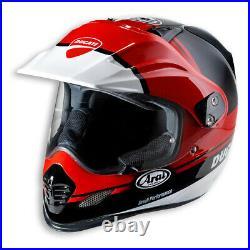 Ducati Arai Strada Tour X 3 Enduro Casque Intégral Noir Rouge Neuf