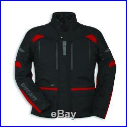 Ducati Veste/Blouson en Tissu Tour C3 Tex Veste Blouson Moto Noir Rouge Neuf